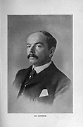 Sir Leander Starr Jameson, 1st Baronet, KCMG, CB, PC (9 February 1853 – 26 November 1917), was a Scottish colonial politician, who was best known for his involvement in the ill-fated Jameson Raid. from the book ' Boer and Britisher in South Africa; a history of the Boer-British war and the wars for United South Africa, together with biographies of the great men who made the history of South Africa ' By Neville, John Ormond Published by Thompson & Thomas, Chicago, USA in 1900
