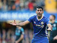 Chelsea's Diego Costa looks on dejected during the Premier League match at Stamford Bridge Stadium, London. Picture date December 11th, 2016 Pic David Klein/Sportimage