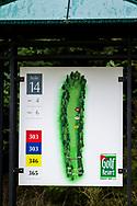 21-09-2015: Golf Resort Karlovy Vary in Karlovy Vary (Karlsbad), Tsjechië.<br /> Foto: Holebord hole 14