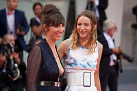 Nora Hamzawi and Christa Theret at the premiere gala screening of the film Doubles Vies (Non Fiction)  at the 75th Venice Film Festival, Sala Grande on Friday 31st August 2018, Venice Lido, Italy.