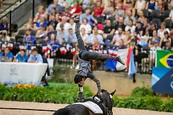 Clavijo Juan Martin, COL, Freeke, Lunger Plamer Jill<br /> World Equestrian Games - Tryon 2018<br /> © Hippo Foto - Stefan Lafrenz<br /> 22/09/18