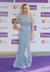 Katie Piper attending the annual WellChild Awards at The Dorchester Hotel, London.