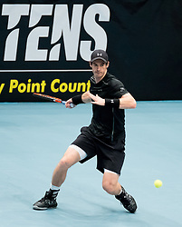 23.10.2016, Stadthalle, Wien, AUT, ATP Tour, Erste Bank Open, Tie Break Tens, Halbfinale, im Bild Andy Murray (GBR) // Andy Murray of Great Britain during the semifinal match of the Tie Break Tens of Erste Bank Open of ATP Tour at the Stadthalle in Vienna, Austria on 2016/10/23. EXPA Pictures © 2016, PhotoCredit: EXPA/ Sebastian Pucher