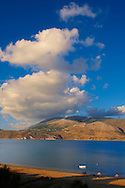 Agrostoli Bay near Lixouri, Kefalonia, Ionian Islands, Greece. .<br /> <br /> Visit our GREEK HISTORIC PLACES PHOTO COLLECTIONS for more photos to download or buy as wall art prints https://funkystock.photoshelter.com/gallery-collection/Pictures-Images-of-Greece-Photos-of-Greek-Historic-Landmark-Sites/C0000w6e8OkknEb8
