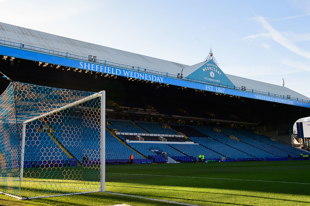 A general view of Hillsborough, home of Sheffield Wednesday FC<br /> <br /> Photographer Chris Vaughan/CameraSport<br /> <br /> The EFL Sky Bet Championship - Sheffield Wednesday v Middlesbrough - Saturday 23rd December 2017 - Hillsborough - Sheffield<br /> <br /> World Copyright © 2017 CameraSport. All rights reserved. 43 Linden Ave. Countesthorpe. Leicester. England. LE8 5PG - Tel: +44 (0) 116 277 4147 - admin@camerasport.com - www.camerasport.com
