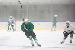 First ice practice session of HK SZ Olimpija 2020 team after Covid-19 restrictions on 17 August, 2020 in Hala Tivoli, Ljubljana, Slovenia. Photo by Grega Valancic / Sportida