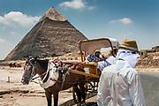 Cairo, Egypt, Aug 05, 2012, Pyramid of Giza. Photo © Christophe Vander eecken