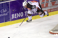 Conny Stromberg at 39th Round of EBEL League ice hockey match between HDD Tilia Olimpija and HK Acroni Jesenice, on December 30, 2008, in Arena Tivoli, Ljubljana, Slovenia. Tilia Olimpija won 4:3. (Photo by Vid Ponikvar / SportIda).