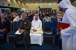 OPEC Secretary General Mohammed Barkindo, UAE Energy Minister Suhail al-Mazrouei during 10th OPEC and non-OPEC Joint Ministerial Monitoring Committee (JMMC) in Algiers, Algeria on September 23, 2018. Photo by Louiza Ammi/ABACAPRESS.COM