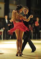 Dans, NM flerdans 10. november 2001. Junior Elite. Lars Alexander Wiulsrud og Marte Hanvold Nordal, Bårdar.