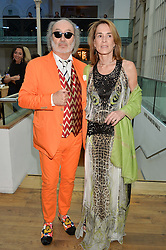 MICHEL TAITTINGER and CLAUDIA TAITTINGER at The Women for Women International & De Beers Summer Evening held at The Royal Opera House, Covent Garden, London on 23rd June 2014.
