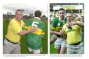 """Paidi OSe with Tomas O""""Se left and Darragh O""""Se right..Picture by Don MacMonagle"""