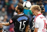 Fotball<br /> Østerrike<br /> Foto: Gepa/Digitalsport<br /> NORWAY ONLY<br /> <br /> SALZBURG,AUSTRIA,30.SEP.12 - FUSSBALL - tipp3 Bundesliga powered by T-Mobile, Red Bull Salzburg vs SK Sturm Graz. <br /> <br /> Bild zeigt Michael Madl (Sturm), Håvard Nielsen (RBS) und Rubin Okotie (Sturm).