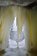 Eben Ice Caves<br /> <br /> Michigan's Upper Peninsula