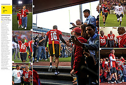 Legends of Candlestick flag football game, Sports Illustrated, 2014