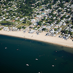Sound View Beach in Old Lyme, Connecticut.  Long Island Sound.  Near the mouth of the Connecticut River.