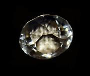 Diamond Gem. Circular with brilliant cut. From Tsarasaotra, Madagascar.