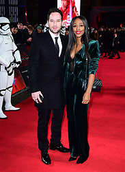 File photo dated 12/12/17 of Josh Ginnelly and Alexandra Burke. The former Strictly Come Dancing finalist Burke has said that her fiance Ginnelly's dancing has improved but is not at competition level yet.