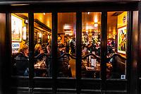 Restaurant, Rue St. Andre des Arts, Paris, France.