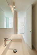 Architecture, new trend design, bathroom of modern house