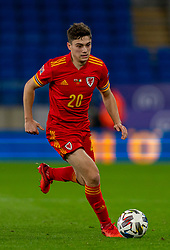 CARDIFF, WALES - Sunday, November 15, 2020: Wales' Daniel James during the UEFA Nations League Group Stage League B Group 4 match between Wales and Republic of Ireland at the Cardiff City Stadium. Wales won 1-0. (Pic by David Rawcliffe/Propaganda)