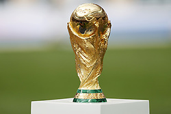 World Cup trophy, FIFA World Cup trophy during the 2018 FIFA World Cup Russia Final match between France and Croatia at the Luzhniki Stadium on July 15, 2018 in Moscow, Russia