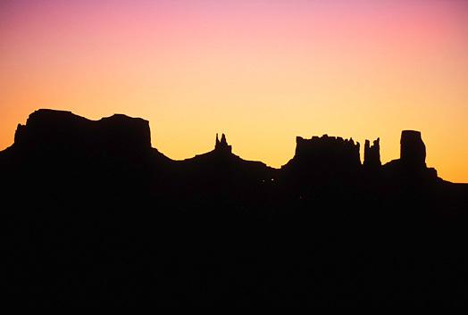 Silhouette at Sunrise