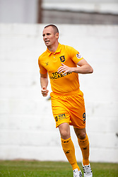 Livingston Kenny Miller cele scoring their first half goal. half time : Livingston 1 v 0 Annan Athletic, Scottish League Cup Group F, played 21/7/2018 at Prestonfield, Linlithgow.