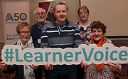 Attending The National FET Learner Forum Regional Meeting in the Abbey Hotel, Roscommon on Wednesday were Vincent Kenny, Peggy Devine, Dympna Bird, Adrian Hunt and Rita McNamara from Boyle.  Photo:- XPOSURE.IE
