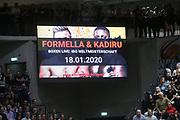 Basketball: 1. Bundesliga, Hamburg Towers - Hakro Merlins Crailsheim 91:92, Hamburg, 29.02.2020<br /> <br /> © Torsten Helmke