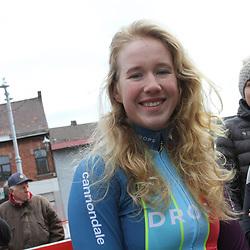 03-03-2020: Wielrennen: GP Le Samyn: vrouwen: Dour: Marjolijn van het Geloof