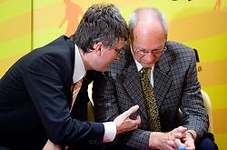 """Franci Plibersek, MIK,  na okrogli mizi na temo """"Kolajna - kljuc do blagovne znamke?"""" v organizaciji SportForum Slovenija, 24. september 2009, Austria Trend Hotel, Ljubljana, Slovenija. (Photo by Vid Ponikvar / Sportida)"""