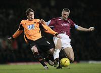 Fotball<br /> England 2004/2005<br /> Foto: SBI/Digitalsport<br /> NORWAY ONLY<br /> <br /> Coca Cola Championship<br /> 03/01/2005<br /> <br /> West Ham v Sheffield United<br /> <br /> Tomas Repka and Andy Gray