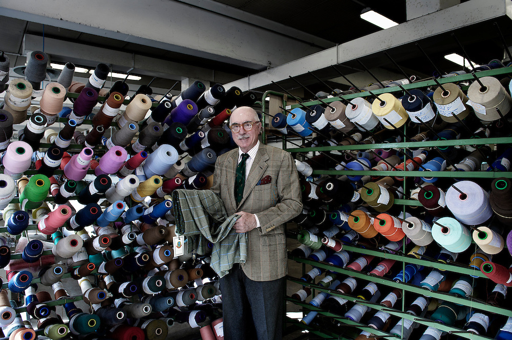 """Luciano Barbera. Luciano Barbera is an industrial that defends the """"Made in Italy"""". His family own the Carlo and Luciano Barbera company. He is one of the best and renowned producer of quality textile. Nevertheless also him was afected by the crisis and the company Kiton based in Naples helped him to save the Carlo Barbera trade mark from the closure."""