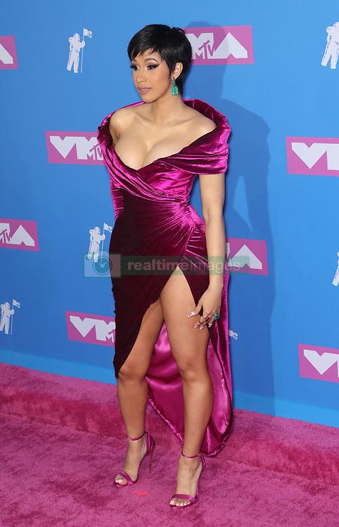 August 21, 2018 - New York City, New York, USA - 8/20/18.Cardi B at the 2018 MTV Video Music Awards held at Radio City Music Hall in New York City..(NYC) (Credit Image: © Starmax/Newscom via ZUMA Press)