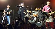 U2 Performs in Miami in 2002. Colin Braley-Photo