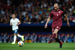 March 22, 2019 - Madrid, MADRID, SPAIN - Wilker Angel of Venezuela during the international friendly football match played between Argentina and Venezuela at Wanda Metropolitano Stadium in Madrid, Spain, on March 22, 2019. (Credit Image: © AFP7 via ZUMA Wire)