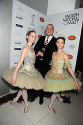 AL MURRAY and dancers at a reception before the launch of the English National Ballet Christmas season launch of The Nutcracker held at the St,Martins Lane Hotel, London on 5th December 2008.