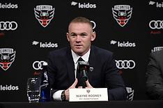Wayne Rooney - D.C. United Unveiling - Washington - 02 July 2018