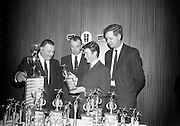 28/3/1966<br /> 3/18/1966<br /> 28 March 1966<br /> <br /> Mr. Peter McGlynn; Mr. Joe Hopkins; Mr. Alan Swayn And Mr John Brennan Vice President of the league  at the Beamish and Crawford Bowling Presentation in Portmarnock