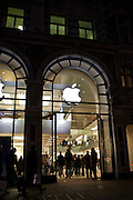 The Apple store in Regent's Street, London, UK