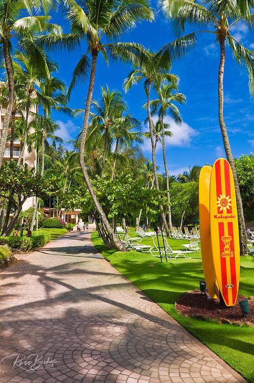 Kalapaki Grill at the Kauai Marriott Resort, Island of Kauai, Hawaii