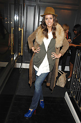 LOUISE ROE at the opening party of hairdresser Paul Edmond's new salon at 217 Brompton Road, London SW3 on 18th March 2008.<br /><br />NON EXCLUSIVE - WORLD RIGHTS