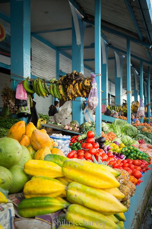 Otavalo food Market. , Ecuador, South America
