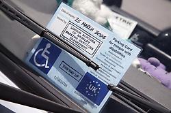 Parking permit,