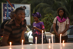 March 26, 2019 - Bamako, Koulikoro, Mali - Bamako, March 26, 2019. Silent Prayer Place des Martyrs in Bamako, in tribute to the victims of the Ogossagou massacre in the Bankass district, which killed nearly 160 people. (Credit Image: © Nicolas Remene/Le Pictorium Agency via ZUMA Press)