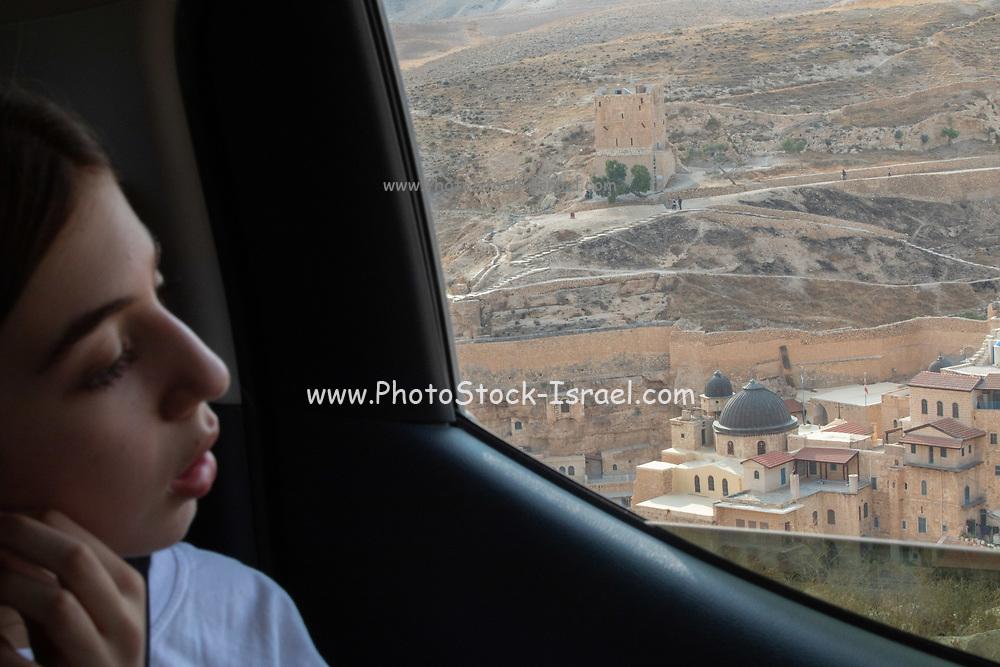 4 wheel drive desert tour in the Judaean Desert, West Bank