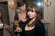 KATE TORY; NATALIE PAPAS, Launch of the Orange restaurant, 37 Pimlico Road, SW1W 8NE,  Thursday 29 October 2009