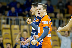 Jani Kovacic of ACH Volley during Volleyball match between AHC Volley and Calcit Volley in Round #4 of Slovenian first league, on December 28, 2017 in Hala Tivoli, Ljubljana, Slovenia. Photo by Ziga Zupan / Sportida