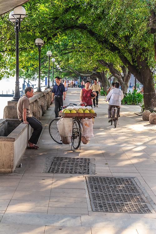 Fruit seller in  Guangzhou, China